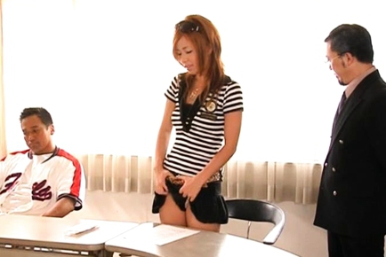 Risa Coda Asian teacher is ripe for a fucking