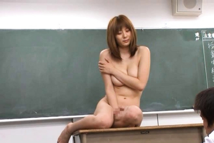Japanese teacher naked