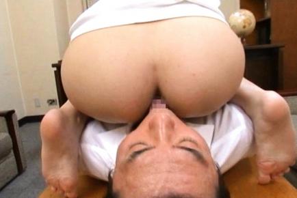 Yuna Shiina Lovely Asian teacher is a fine sex partner