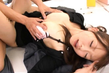 Saki Ayano Asian teacher has amazing sex
