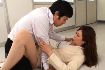 Kotone Amamiya hot teacher sex
