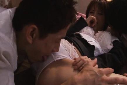 Smokin� Yuria Satomi hardcore sex hard fucking