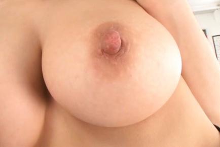 Sexy Japanese teacher Ki Hanyuu gets her boobs fucked
