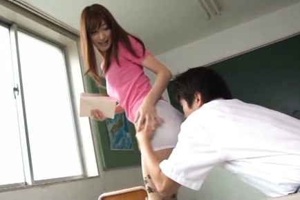 Ichica Kanhata gets nailed by a horny student