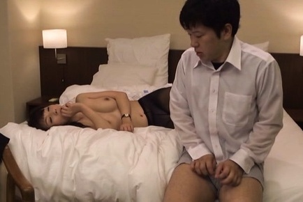Rough pantyhose fuck with hot teacher Kimika Ichijou