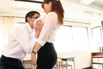 Anri okita teacher
