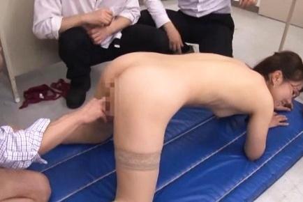 Japanese teacher Nodoka Yamagishi fucked in the classroom and made to swallow